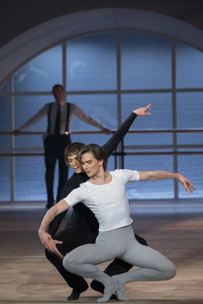 """5. V.Lantratov, D.Savin and I.Vernik, """"Nureyev"""", chor.: Y.Possokhov, dir.: K.Serebrennikov, Bolshoi Ballet 2017 © Bolshoi Ballet / M.Logvinov"""