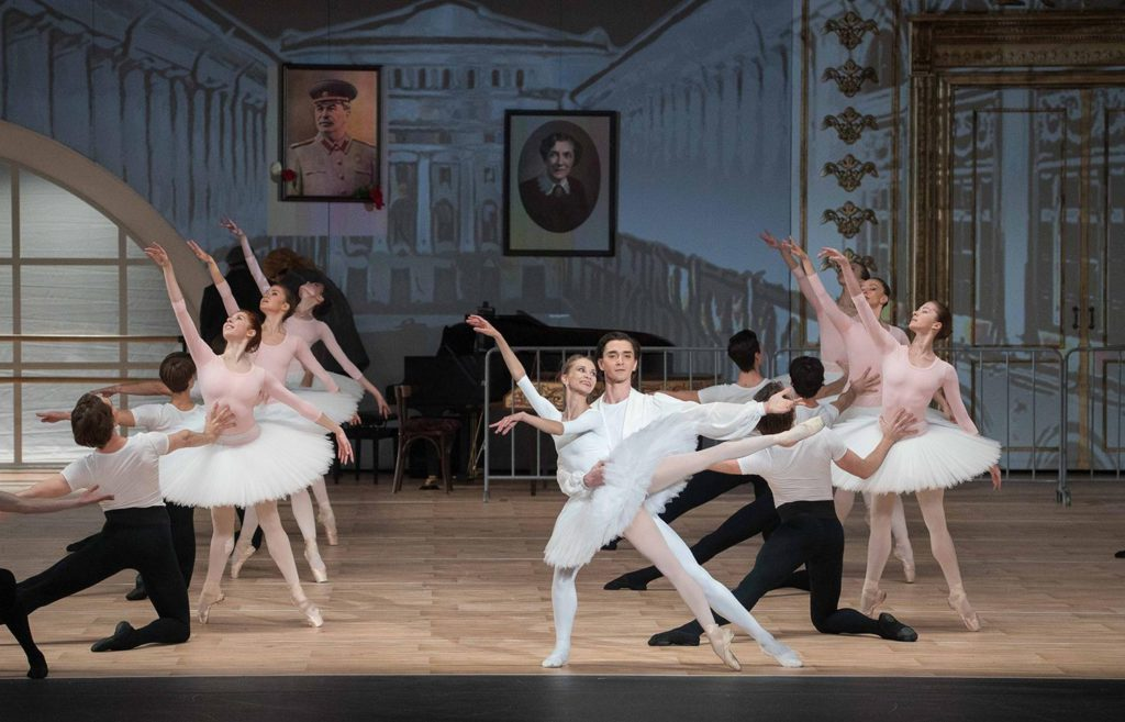 """3. A.Stashkevich, V.Lantratov and ensemble, """"Nureyev"""", chor.: Y.Possokhov, dir.: K.Serebrennikov, Bolshoi Ballet 2017 © Bolshoi Ballet / P.Rychkov"""