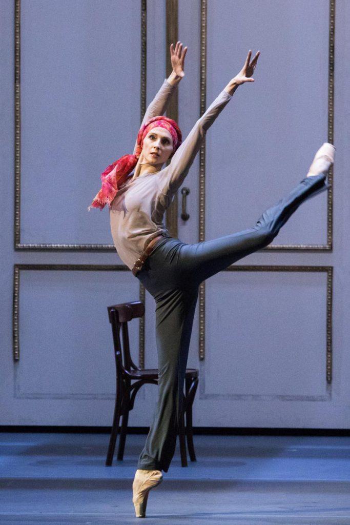 """8. S.Zakharova, """"Nureyev"""", chor.: Y.Possokhov, dir.: K.Serebrennikov, Bolshoi Ballet 2017 © Bolshoi Ballet / M.Logvinov"""