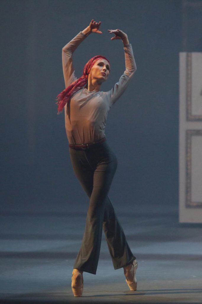 """7. S.Zakharova, """"Nureyev"""", chor.: Y.Possokhov, dir.: K.Serebrennikov, Bolshoi Ballet 2017 © Bolshoi Ballet / D.Yusupov"""