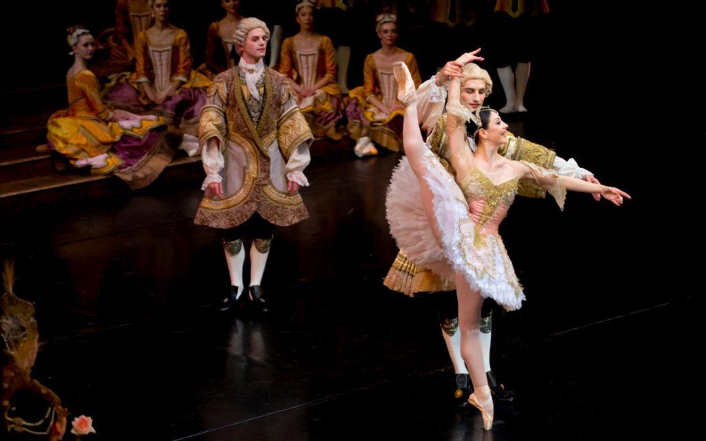 "4. M.Makhateli and ensemble, ""The Sleeping Beauty"" by P.Wright after M.Petipa, Dutch National Ballet 2017 © A.Kaftira"
