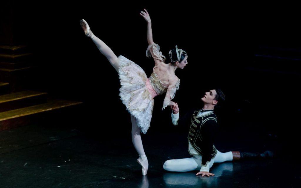 "1. M.Makhateli and D.Camargo, ""The Sleeping Beauty"" by P.Wright after M.Petipa, Dutch National Ballet 2017 © A.Kaftira"