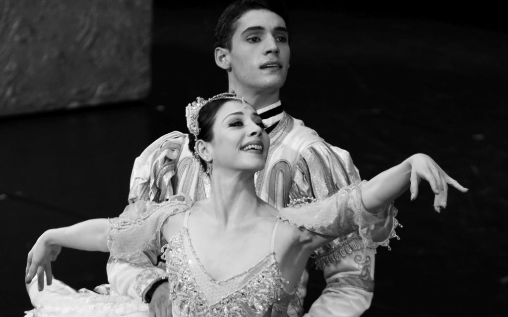 "18. M.Makhateli and D.Camargo, ""The Sleeping Beauty"" by P.Wright after M.Petipa, Dutch National Ballet 2017 © A.Kaftira"