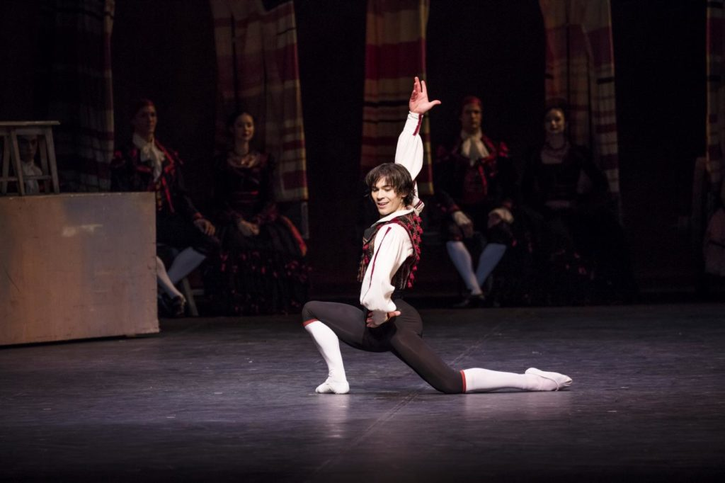 "5. A.Trusch, ""Don Quixote"" by R.Nureyev after M.Petipa, Hamburg Ballet 2018 © K.West"