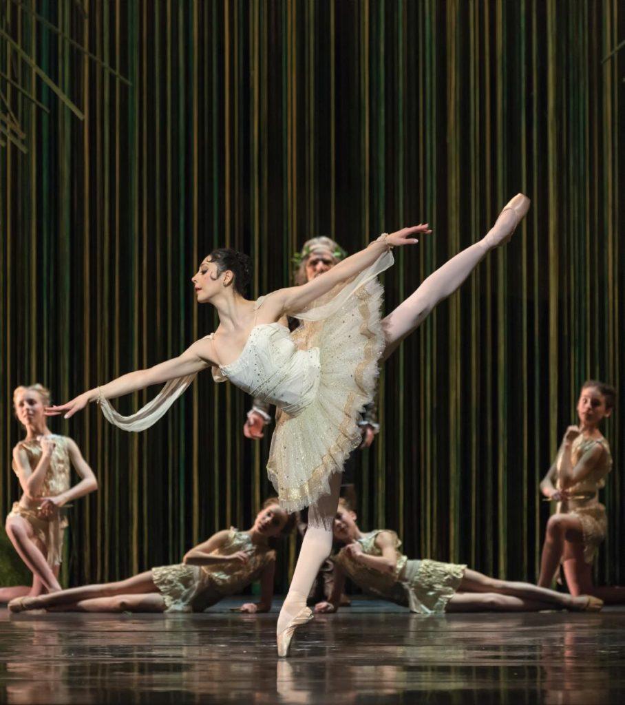 "13. M.Makhateli and ensemble, ""Don Quixote"" by M.Petipa, A.Gorski and A.Ratmansky, Dutch National Ballet 2018 © M.Haegeman"