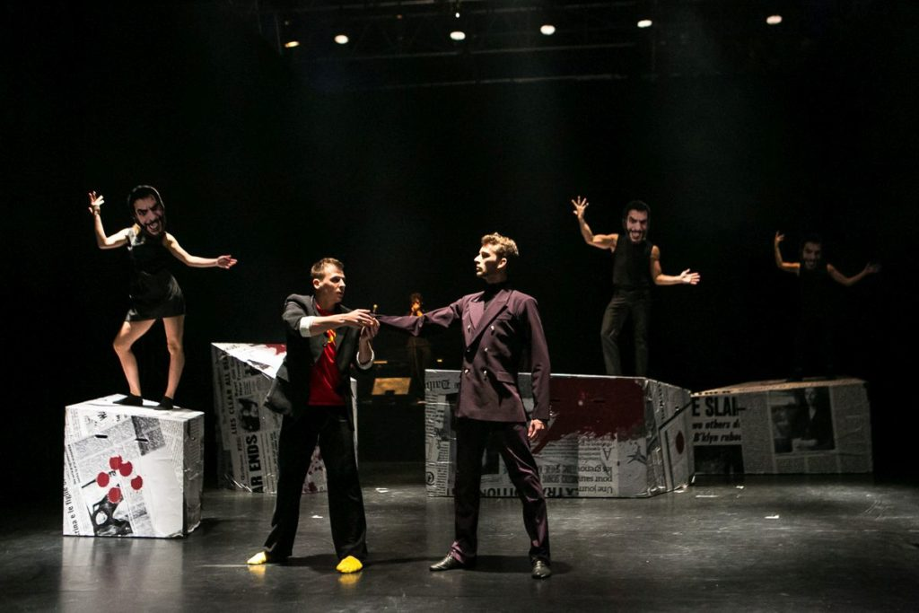 "9. A.Sojka, A.Sadirov and ensemble, ""The Last Supper"" by Š.Pechar, O.Vinklát and M.Svobodník, DEKKADANCERS © M.Hančovský"