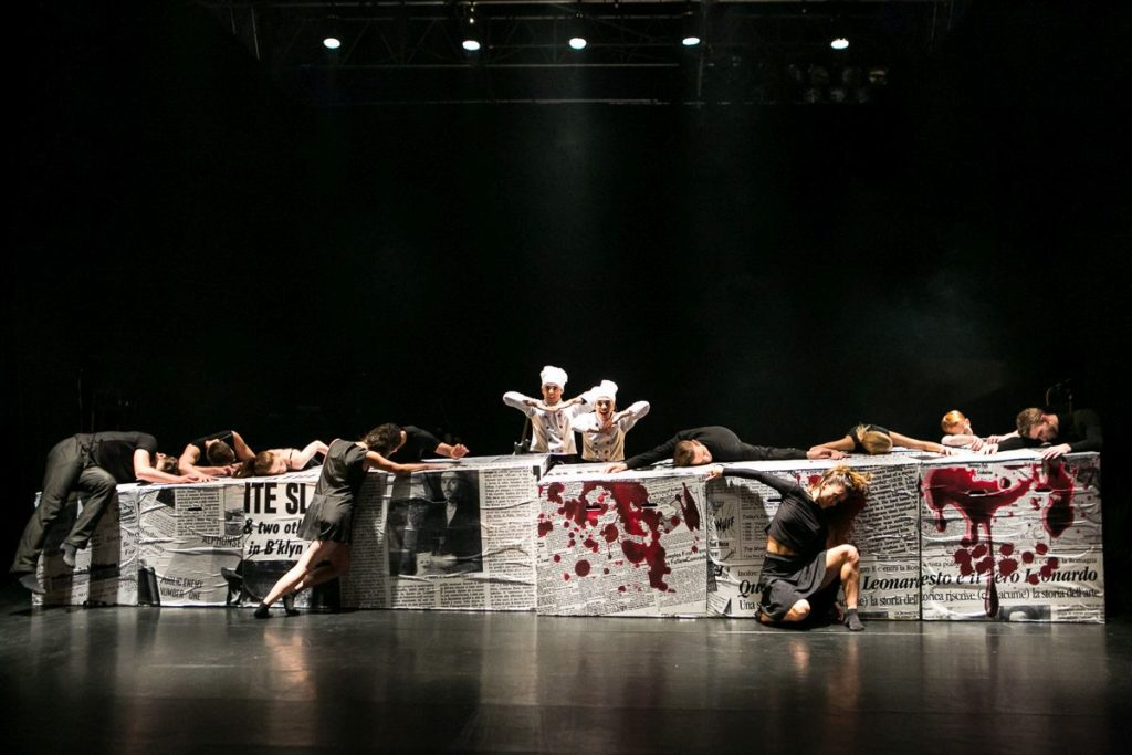 "12. M.Deneux and M.Lanoue, ""The Last Supper"" by Š.Pechar, O.Vinklát and M.Svobodník, DEKKADANCERS © M.Hančovský"