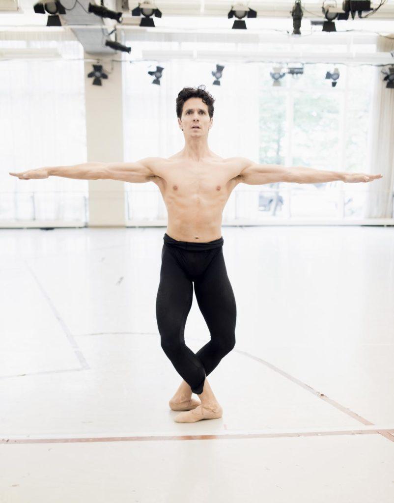 "7. G.Côté rehearsing ""Nijinsky"" by J.Neumeier, The National Ballet of Canada 2017 © The National Ballet of Canada / K.Kuras"