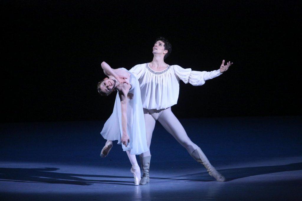 "1. E.Obraztsova and G.Côté, ""Romeo and Juliet"" by A.Ratmansky, Bolshoi Ballet 2018 © Bolshoi Ballet / E.Fetisova"