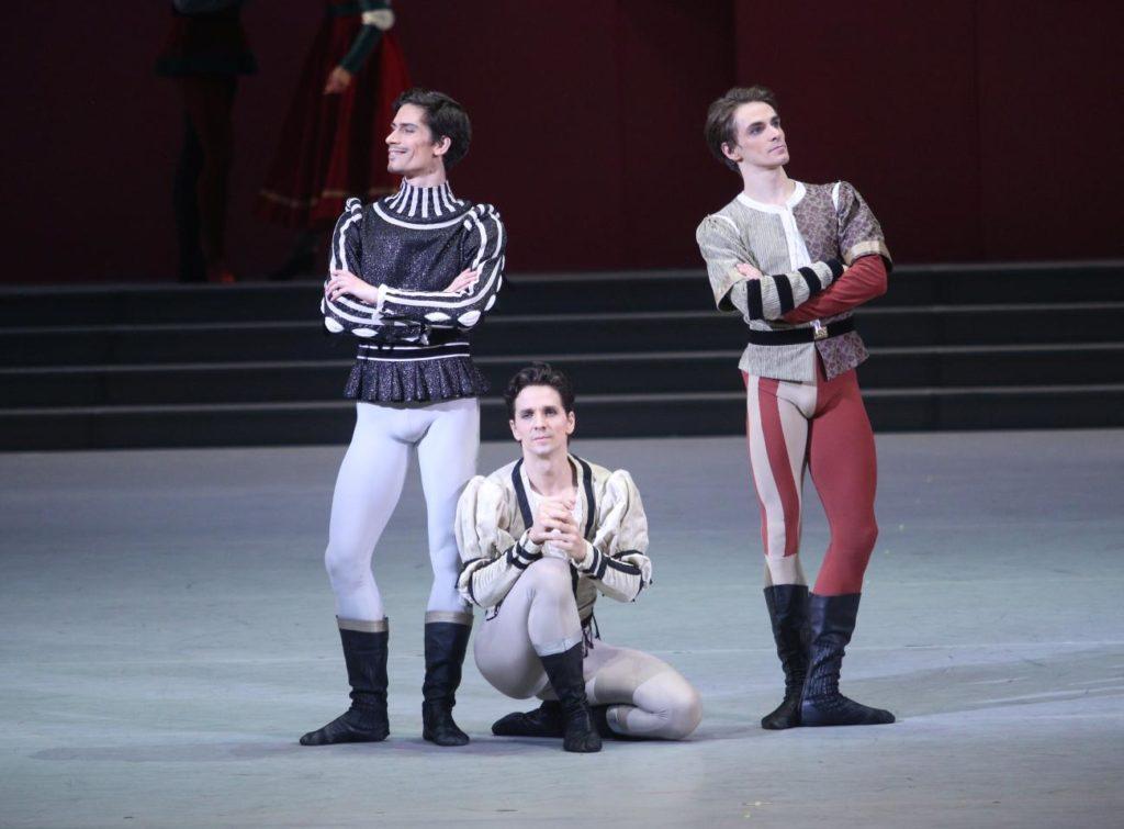 "3. A.Savichev, G.Côté and M.Kochan, ""Romeo and Juliet"" by A.Ratmansky, Bolshoi Ballet 2018 © Bolshoi Ballet / E.Fetisova"