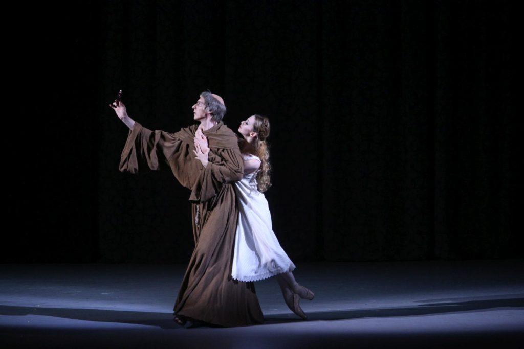 "14. Y.Ostrovsky and E.Obraztsova, ""Romeo and Juliet"" by A.Ratmansky, Bolshoi Ballet 2018 © Bolshoi Ballet / E.Fetisova"