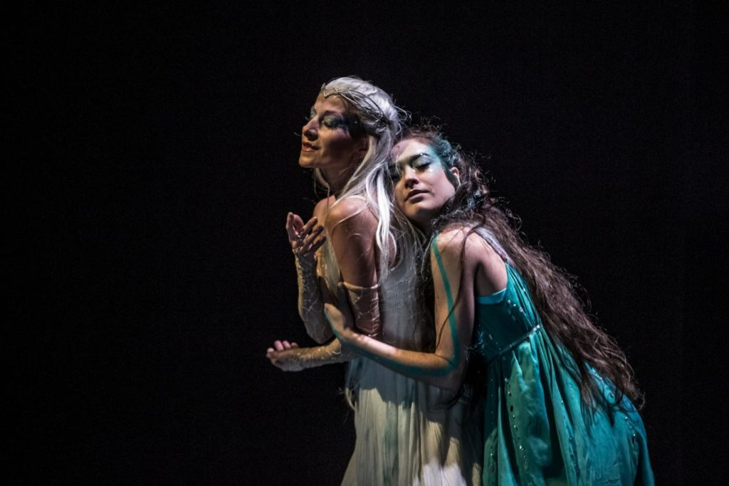 "1. T.Podařilová and M.Matějková, ""The Little Mermaid"" by J.Kodet, Czech National Ballet 2019 © M.Divíšek"