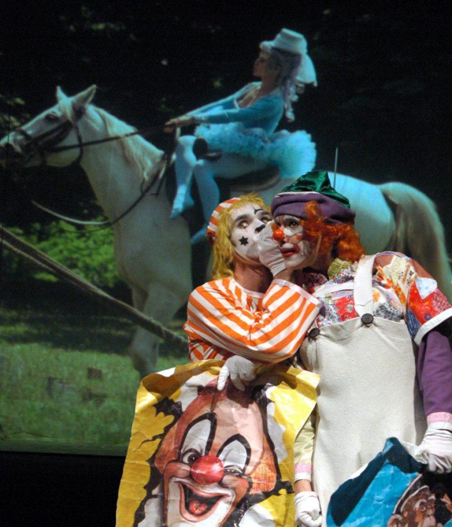 """1. P.Knolle and A.Volný, """"Wonderful Circus"""" by K.Vrtiška, J.Hrabal, V.Jílek, J.Koníček and F.Pokorný, Laterna magika 2019 © P.Našic"""