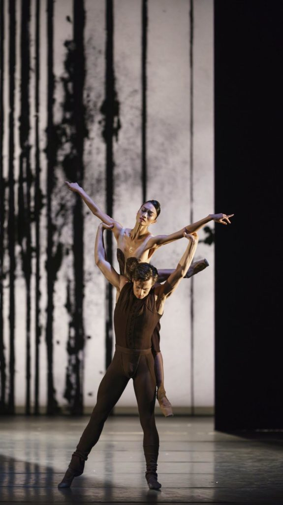 "2. F.Kaneko and C.Richardson, ""Asphodel Meadows"" by L.Scarlett, The Royal Ballet 2019 © ROH / B.Cooper"
