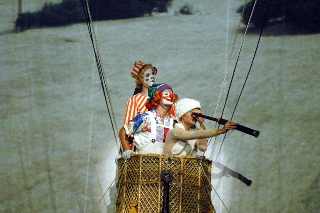 "3. P.Bilík, D.Berndl and Z.Bílková, ""Wonderful Circus"" by K.Vrtiška, J.Hrabal, V.Jílek, J.Koníček and F.Pokorný, Laterna magika 2019 © P.Našic"