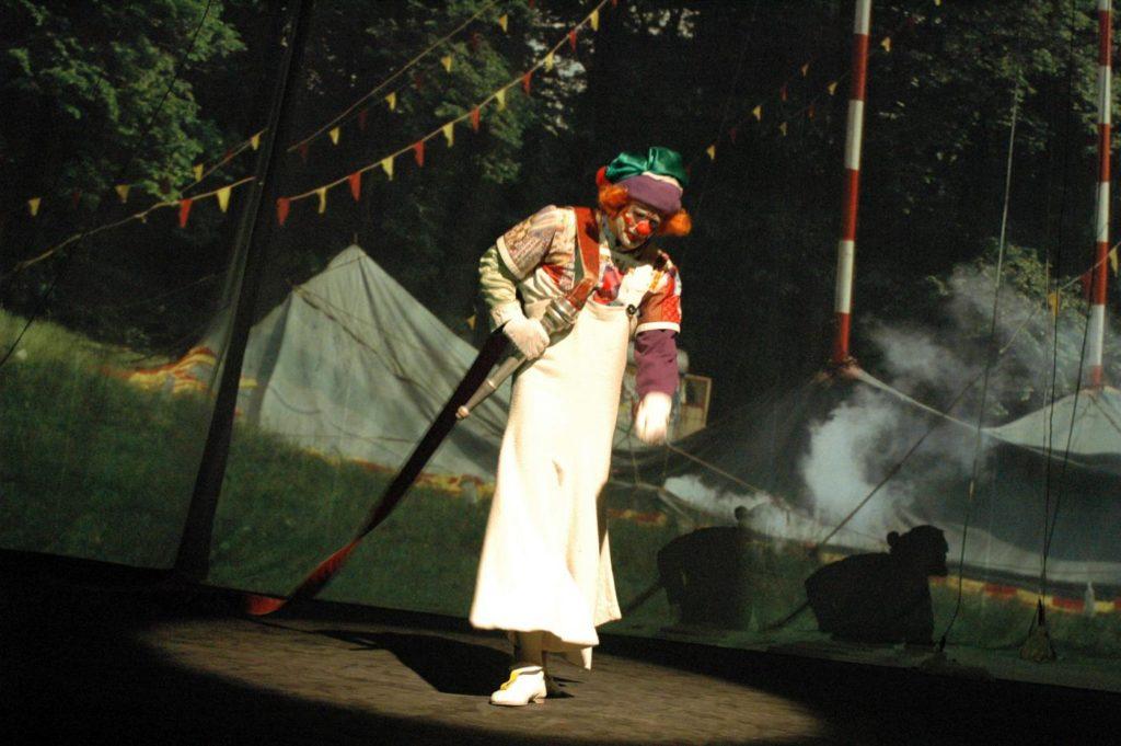 """5. P.Bilík, """"Wonderful Circus"""" by K.Vrtiška, J.Hrabal, V.Jílek, J.Koníček and F.Pokorný, Laterna magika 2019 © P.Našic"""