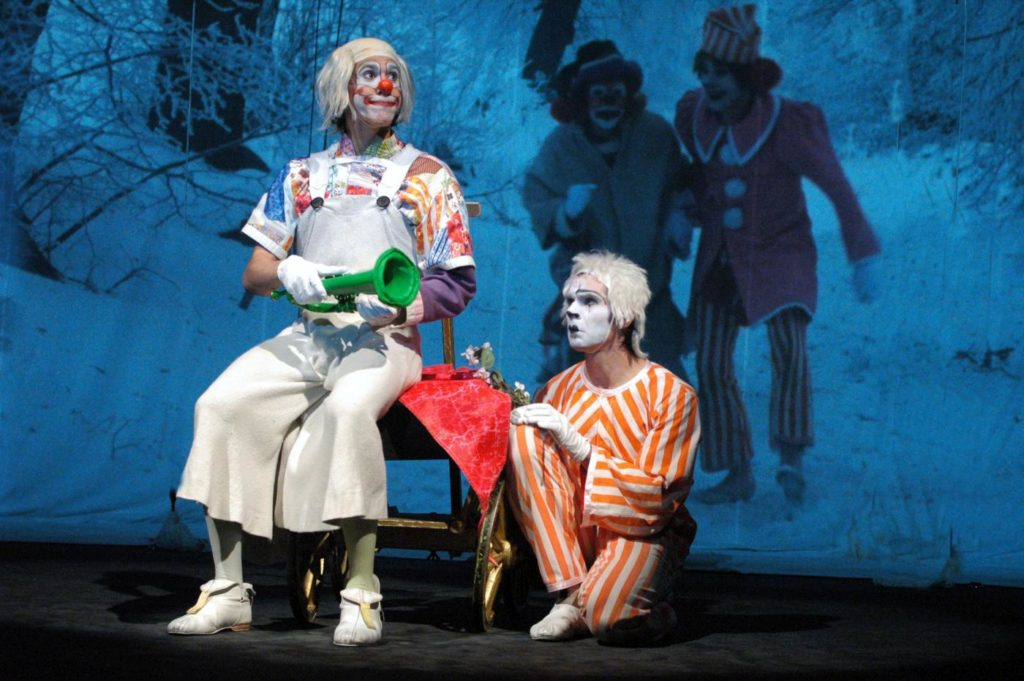 """9. P.Knolle and A.Volný, """"Wonderful Circus"""" by K.Vrtiška, J.Hrabal, V.Jílek, J.Koníček and F.Pokorný, Laterna magika 2019 © P.Našic"""