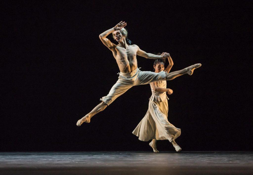 """17. M.Geilings and M.Maeda, """"Sechs Tänze"""" by J.Kylán, Ballet Zurich 2019 © G.Bartadon"""
