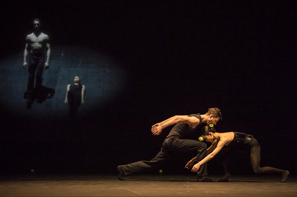"11. C.Aitchison-Dugas, A.Lissitzky, J.Casier and S.Lim, ""Sweet Dreams"" by J.Kylán, Ballet Zurich 2019 © G.Bartadon"