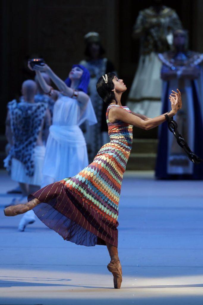 """4. D. Khokhlova, """"La Fille du Pharaon"""" by P. Lacotte, Bolshoi Ballet 2019 © Bolshoi Ballet / D. Yusupov"""