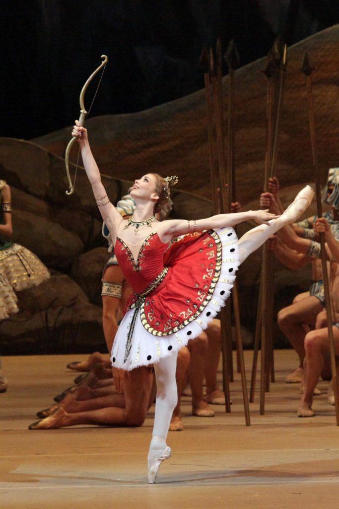 """1. E. Obraztsova, """"La Fille du Pharaon"""" by P. Lacotte, Bolshoi Ballet 2019 © Bolshoi Ballet / D. Yusupov"""