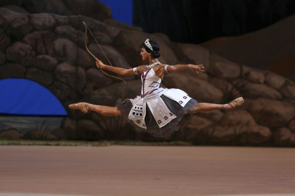 """3. D. Khokhlova, """"La Fille du Pharaon"""" by P. Lacotte, Bolshoi Ballet 2019 © Bolshoi Ballet / D. Yusupov"""