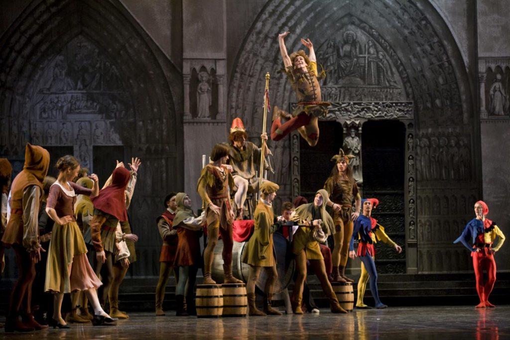 "2. Ensemble, ""La Esmeralda"" by V. Burmeister, Stanislavsky and Nemirovich-Danchenko Moscow Music Theatre 2019 © V. Lapin"