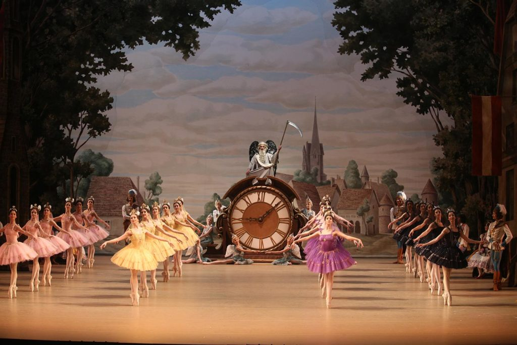 "6. N. Mayorov and ensemble, ""Coppélia"" by M. Petipa and E. Cecchetti, revival and new choreographic version by S. Vikharev, Bolshoi Ballet 2019 © Bolshoi Ballet / E. Fetisova"