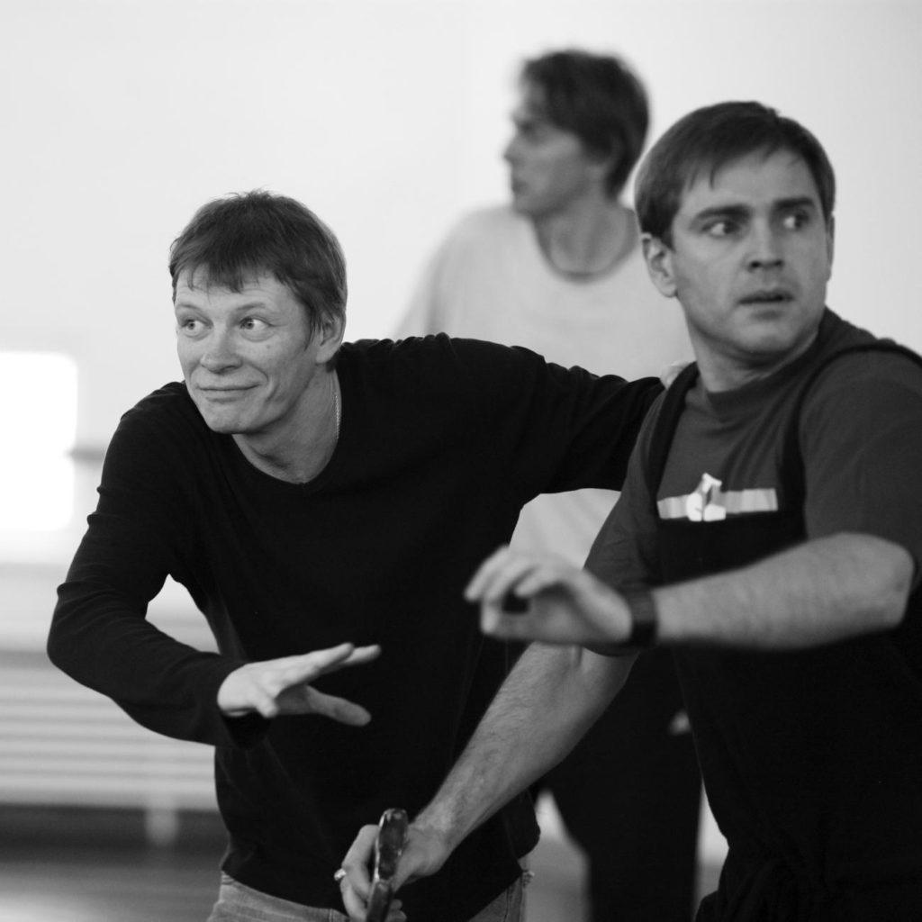 """5. S. Vikharev rehearsing """"Coppélia"""", Bolshoi Ballet © Bolshoi Ballet / V. Podorojniy"""