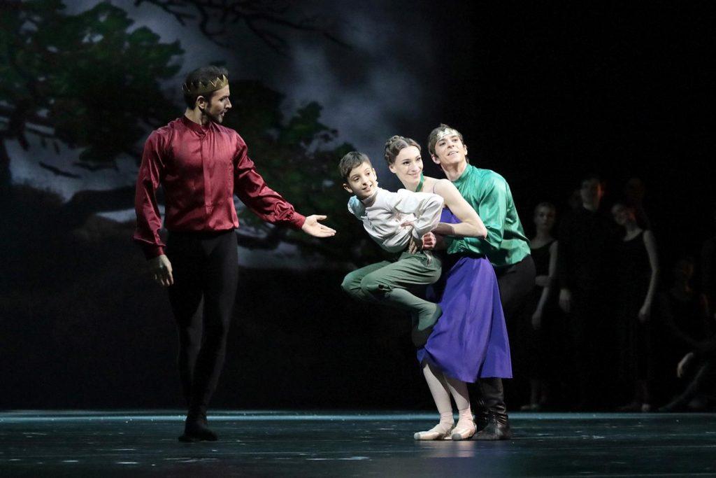 """1. E. Svolkin, L. Timoshenko, O. Smirnova, and D. Savin, """"The Winter's Tale"""" by C. Wheeldon, Bolshoi Ballet 2019 © Bolshoi Ballet / D. Yusupov"""