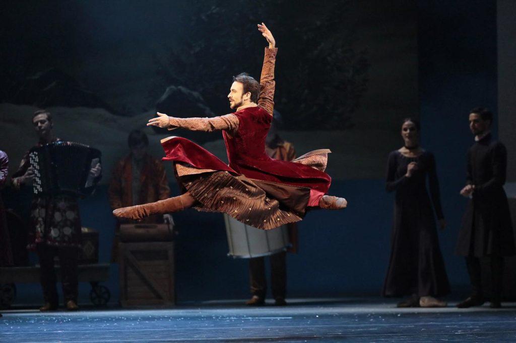 """3. E. Svolkin, """"The Winter's Tale"""" by C. Wheeldon, Bolshoi Ballet 2019 © Bolshoi Ballet / D. Yusupov"""