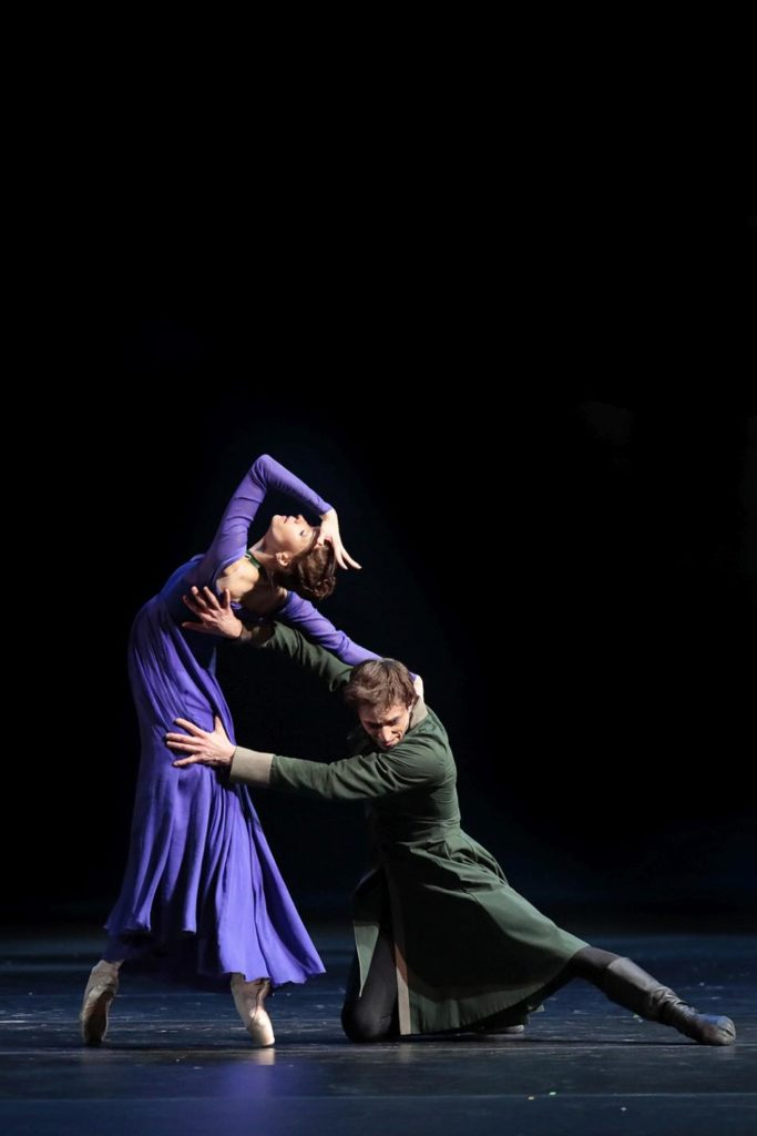 "4. O. Smirnova and D. Savin, ""The Winter's Tale"" by C. Wheeldon, Bolshoi Ballet 2019 © Bolshoi Ballet / D. Yusupov"
