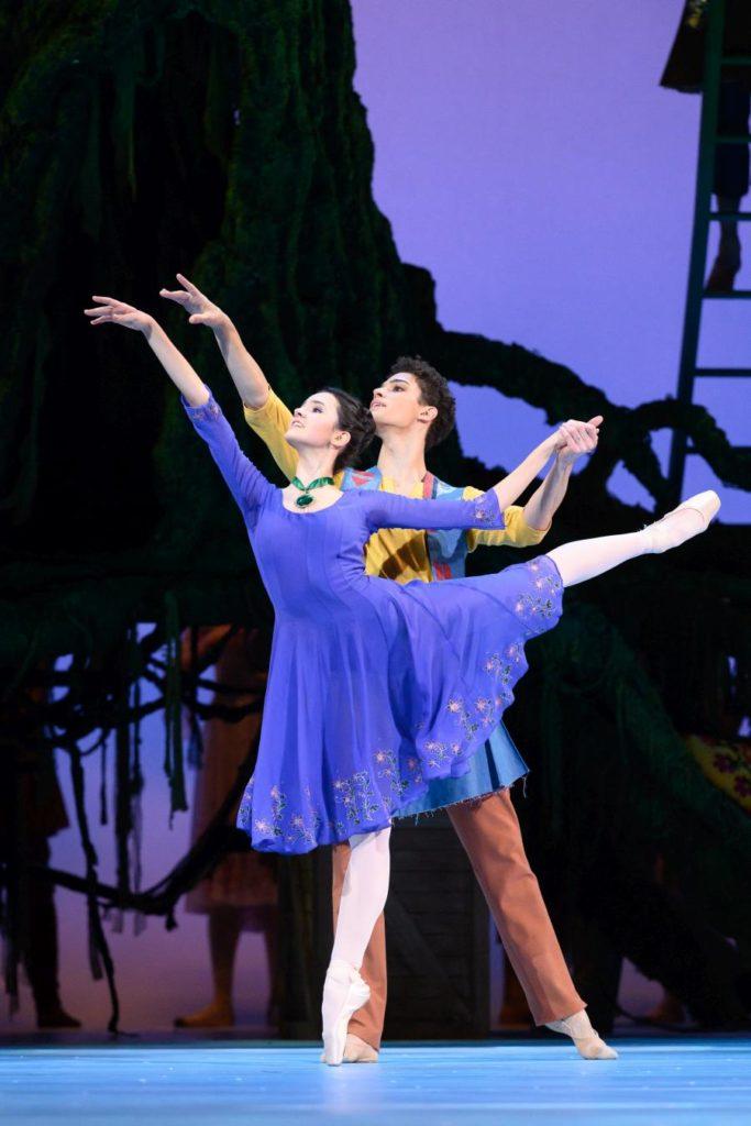 "13. A. Trikoz and D. Motta Soares, ""The Winter's Tale"" by C. Wheeldon, Bolshoi Ballet 2019 © Bolshoi Ballet / N. Voronova"