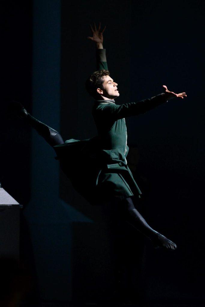 """5. I. Tsvirko, """"The Winter's Tale"""" by C. Wheeldon, Bolshoi Ballet 2019 © Bolshoi Ballet / N. Voronova"""