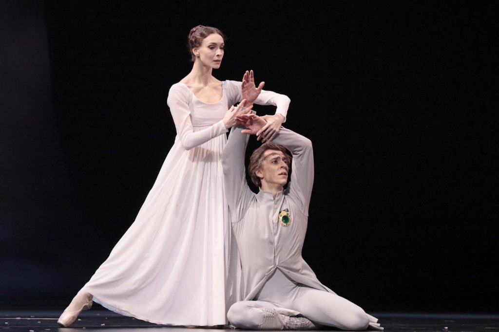 "15. O. Smirnova and D. Savin, ""The Winter's Tale"" by C. Wheeldon, Bolshoi Ballet 2019 © Bolshoi Ballet / D. Yusupov"