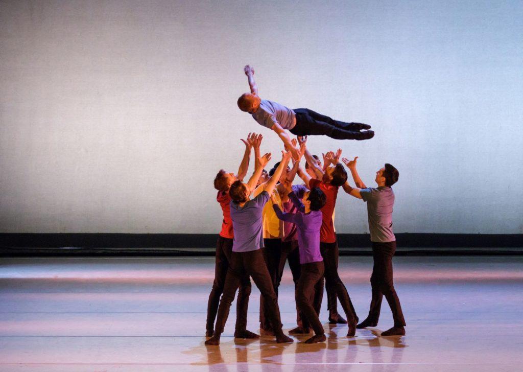 """1. Ensemble, """"Brahms Party"""" by A.Pimonov, Ural Opera Ballet 2021 © O.Kerelyuk / Ural Opera Ballet"""