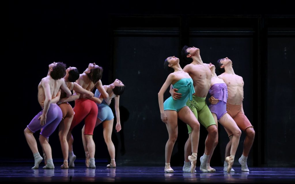 """5) Members of the Junior Company, """"In and Out"""" by H.van Manen, Junior Company of the Dutch National Ballet 2021 © H.Gerritsen"""