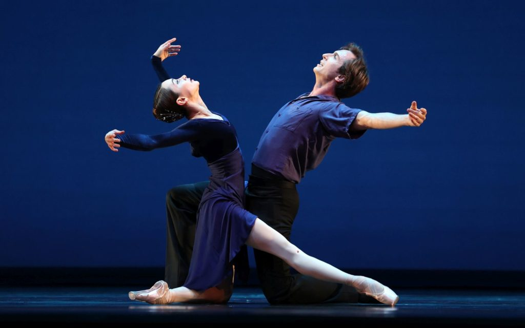 "5. A.Ol and A.Shesterikov, ""Duet"" by W.Eagling, Dutch National Ballet 2021 © H.Gerritsen"