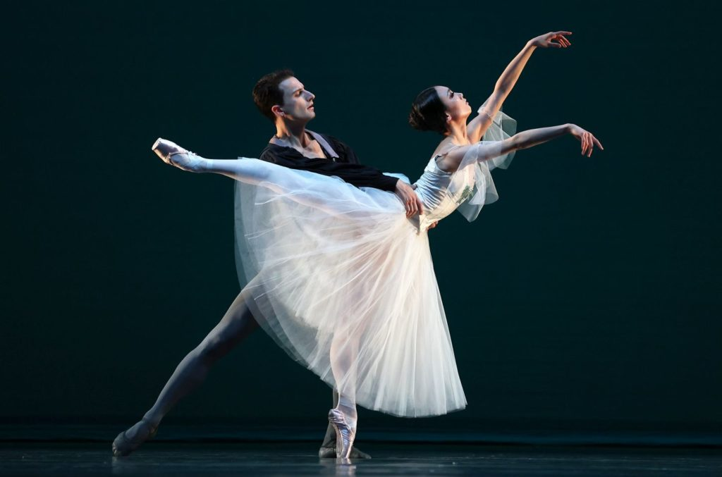 "3. S.Velichko (Count Albrecht) and Q.Liu (Giselle), ""Giselle"" by M.Petipa after J.Coralli and J.Perrot, production and additional choreography by R.Beaujean and R.Bustamante, Dutch National Ballet 2021 © H.Gerritsen"