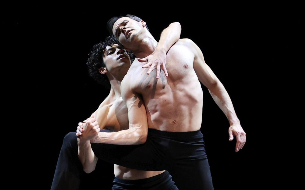 "10. T.van Poucke and J.Varga, ""Two and Only"" by W.Kuindersma, Dutch National Ballet 2021 © H.Gerritsen"
