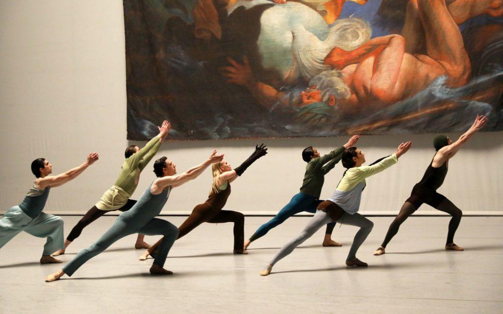 "16. G.Princic, L.Hepler, P.Johnson, K.Hilli, R.Valdez, F.Rinieri, and M.Esposito, ""I Feel It Too"" by S.Verwoert, Dutch National Ballet 2021 © H.Gerritsen"