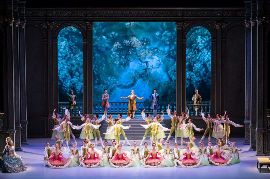 "4. Ensemble, ""The Sleeping Beauty"" by M.Haydée after M.Petipa, Czech National Ballet 2021 © S.Gherciu"