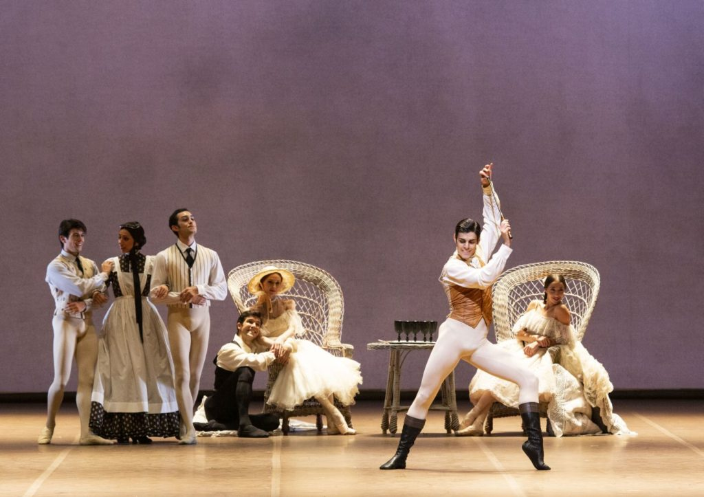 "7. G.Starace (Gaston Rieux) and ensemble, ""Lady of the Camellias"" by J.Neumeier, Teatro alla Scala 2017 ©️ Teatro alla Scala / M.Brescia & R.Amisano"