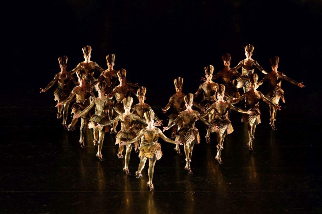 "1. M.Klekovkin (The King) and ensemble, ""The Order of the King"" by V.Samodurov, Ural Opera Ballet 2021 © O.Kerelyuk / Ural Opera Ballet"