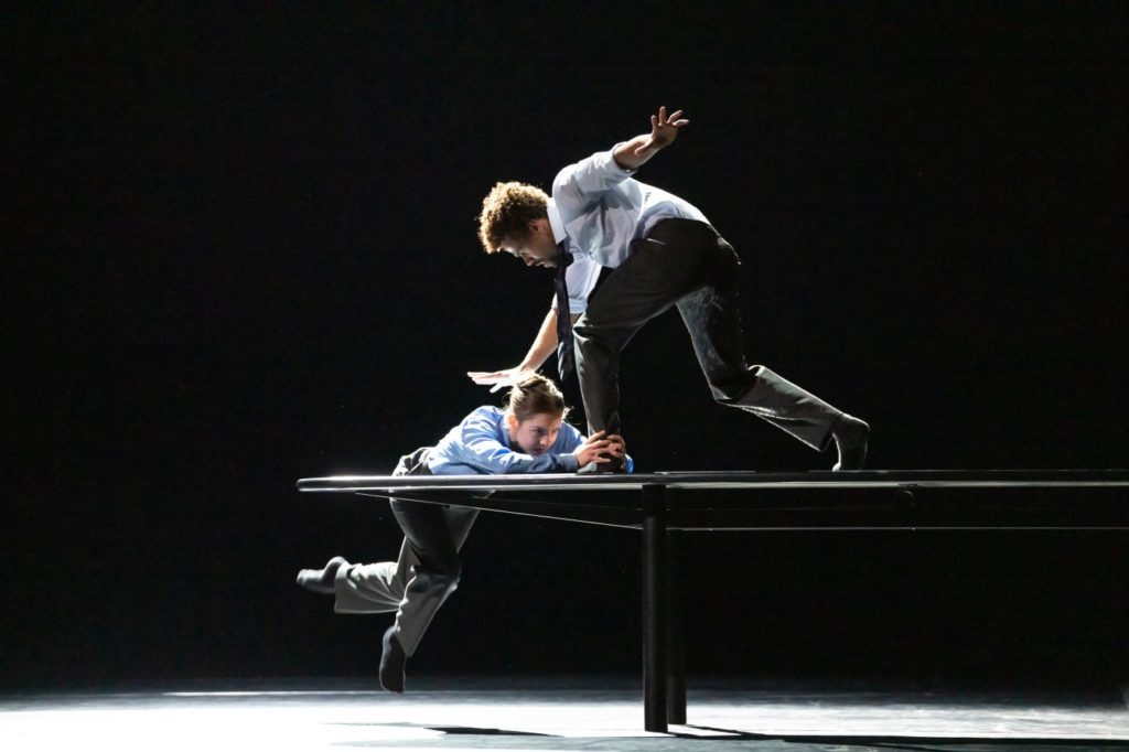 """15. A.Dean and J.Sissens, """"The Statement by C.Pite, The Royal Ballet 2021 © B.Cooper"""