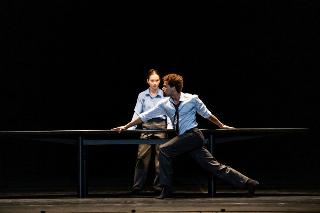 """11. A.Dean and J.Sissens, """"The Statement by C.Pite, The Royal Ballet 2021 © B.Cooper"""