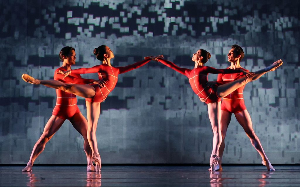 "6. Y.Gyo Choi, R.Sakamoto, C.Vowles, and M.Esposito, ""Prometheus"" by W.Kuindersma, E.Meisner, and R.Wörtmeyer, Dutch National Ballet 2021 © H.Gerritsen"