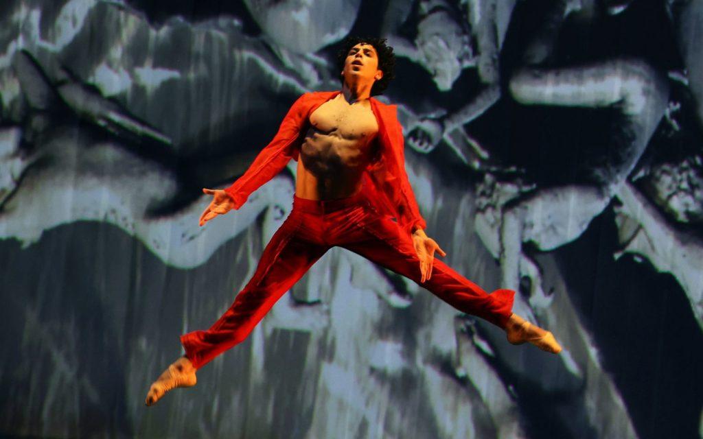 "3. T.van Poucke (Prometheus), ""Prometheus"" by W.Kuindersma, E.Meisner, and R.Wörtmeyer, Dutch National Ballet 2021 © H.Gerritsen"