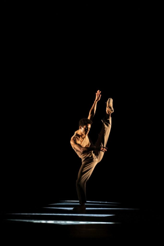 "8. M.Sambé, ""Optional Family: A Divertissement"" by K.Abraham, The Royal Ballet 2021 © B.Cooper"