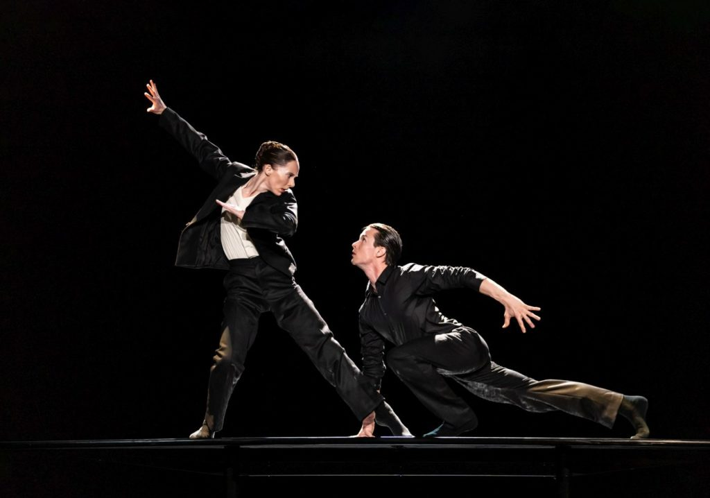 """14. K.McNally and C.Richardson, """"The Statement by C.Pite, The Royal Ballet 2021 © B.Cooper"""
